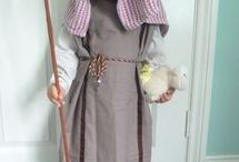 Nativity play costumes