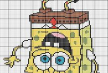 Spongebob Cross Stitch