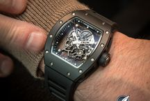 Wrist shots / Exciting high-end mechanical timepieces in their natural environment, i.e. on the wrist!