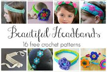Crochet - Headbands/Hairbows