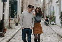 Engagement Photoshoot in the City