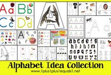 Alphabet and Number Activities / by Jessica Grounds-Robinson