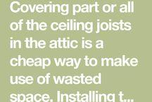 Attic/Roof Storage Room