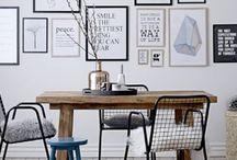Décoration appartement / Idées déco et aménagement pour appartement, terrasse.
