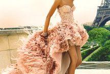Svatební šaty - různé