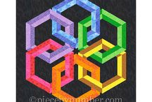 Quilting - optical illusions