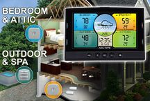 Maintaining a Healthy & Happy Home / AcuRite's new Multi-Sensor Monitoring Stations let you keep tabs on the environment in and around your home. This can help you mitigate mold, optimize sleep conditions, protect valuables, grow healthier plants, prevent water damage and more.