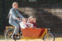 Biking with 2 children
