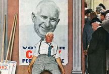 Art: Voting in America / A fresh look at some vintage election art from our archives. / by Saturday Evening Post