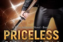 """The Rylee Adamson Novels / The Rylee Adamson Novels. There are 10 full length novels and 5 novellas. The series and The Elemental Series overlap beginning with the novella """"Elementally Priceless""""."""