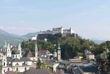 SALZBURG / The beautiful city of Salzburg