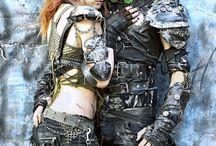 Apocalyptique/Cyberpunk/Fantasy
