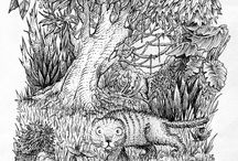 Luca Villani's drawings / This board compiles drawings and illustrations by Luca Villani