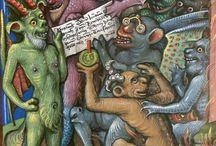 Schrift, Tod und Teufel