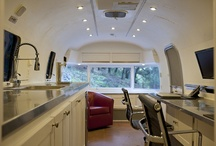 Mobile Office Ideas! Living West Realty / I've acquired a beat up 25 ft 1971 Airstream Land Yacht.  The demo of the inside is almost complete, and I am now collecting ideas to transform the Airstream into the Living West Realty mobile office.  I'm using this board to collect those ideas. / by Living West Realty