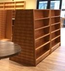 """Island Bookcases / The """"work horses"""" of bookstore fixtures, properly holding the bulk of the merchandise."""