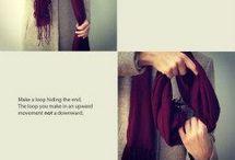 Binde tørklæde