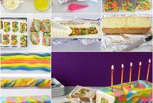 gâteau color