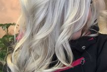 long hair styles with blonde highlights