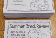 education -summer packets