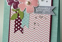 Stampin' Up!® - Flower Shop / by Rochelle Blok, Independent Stampin'  Up! Demonstrator