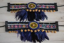 Wild west boot covers and jewelery