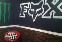 boys Motocross room ideas