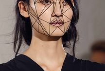 Geometry & Abstract make up