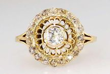 Diamond Jewelry - Vintage and Antique / by Ruby Lane Vintage