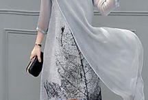 vestido plus side