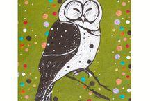 Owl Art Photography Prints Paintings