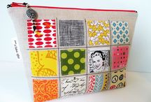 fabric pochette purse