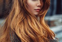 light copper hair