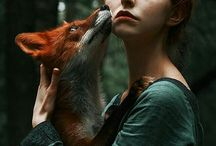 She and the animals