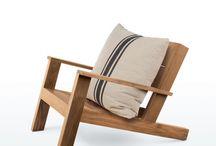 Wood Chair detail