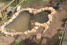 Gartenteich / Zwei Etagen Teich