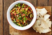 Dips and Salsas / Dips and Salsa recipes to make your Mexican Fiesta complete, from seven layer dip to Avocado and Black Bean Salsa we have are sure to have a recipe that will make the perfect accompaniment to your mexican meal.