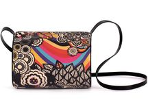 Horizontal Tube - The Hidden Rainbow / Women Leather Handbags, Limited Edition Designer Leather Bag COLOURS OF MY LIFE - Limited Edition wearable art signed by Anca Stefanescu.