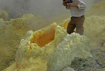 Volcano sulfur carrier