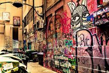Melbourne graffiti art