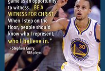 Stephen Curry / On displaying a Positive Christian