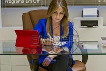 Lidia Pace / Jornalista conhecida pelo talento, pela simpatia e pela seriedade com que conduz o jornalismo.