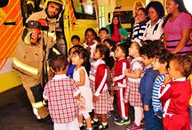 A Wonderful Educational Trip / Their little eyes were expressing 'WOW'… when they saw the huge fire trucks and its facilities. The lucky kids went inside the fire truck and explored it. The officers explained about the parts of the huge trucks and how they operate them.  https://whitefieldspreschools.com/2016/12/26/a-wonderful-educational-trip/