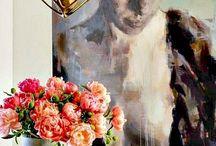 Decoration details flowers etc