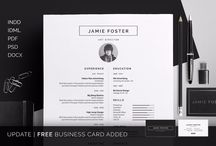 25+ Professional Resume Templates – PSD,Word,Indesign,DOC,PDF