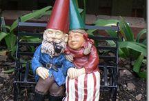 Gnomes Make Me Happy Happy Happy. .. / by Mariela Murdock