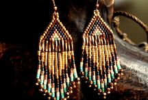 Earrings / african style