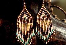 Earrings / african style