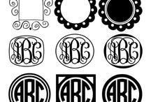 letras plantillas