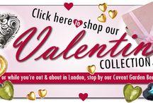 Valentines at Beadworks UK / Valentine Beading & Jewellery making projects